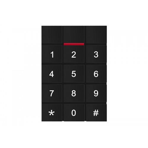 Kódová dotyková klávesnice se čtečkou RFID čipů ZONEWAY T11EM