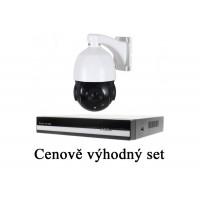 IP kamerový set ZW NVR 2408 + iSeetec IP PTZ kamera 5MPx, 22x ZOOM, P2P