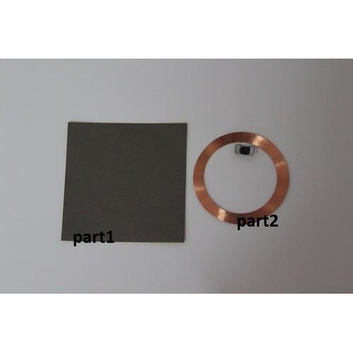 Bezkontaktní MIFARE samolepka (13,56 MHz), Sebury standard thin AP-IC