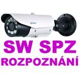 2MPx IP LPR Sunell SN-IPR57/20AKDN/T/Z POE  - čtení SPZ - NO/NC/COM, Audio, H265, IR70m, ZOOM (7 - 22mm), SW v ceně