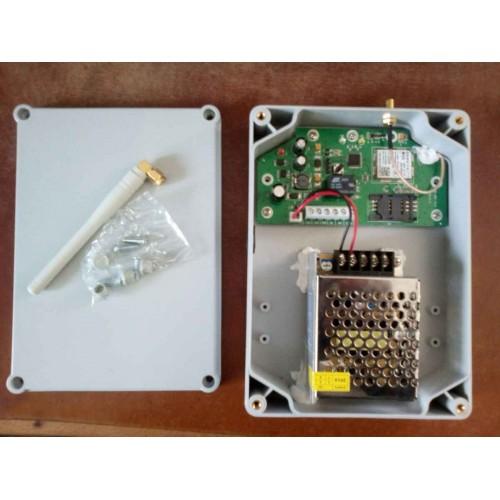 Venkovní GSM relé s boxem a napájením, ovládací základna,IP65, Homelux HX-DO1